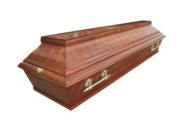 standardni pogrebni sanduk